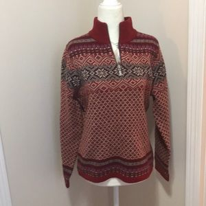 LL BEAN warm and cozy 1/4 zip